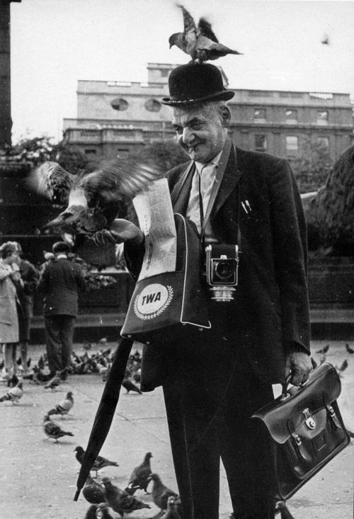 Weegee in Trafalgar Square D.D. Teoli Jr. A.C.
