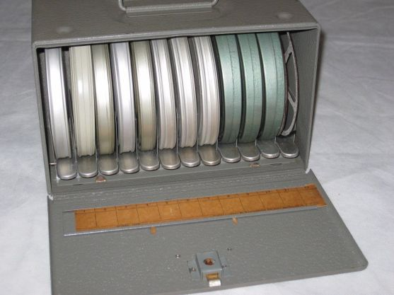 movie film reel case for cans