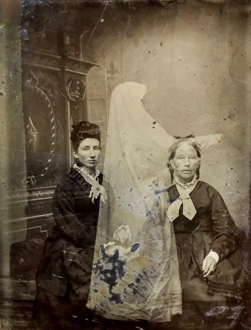 Tintype ghosts D.D. Teoli Jr. A. C.