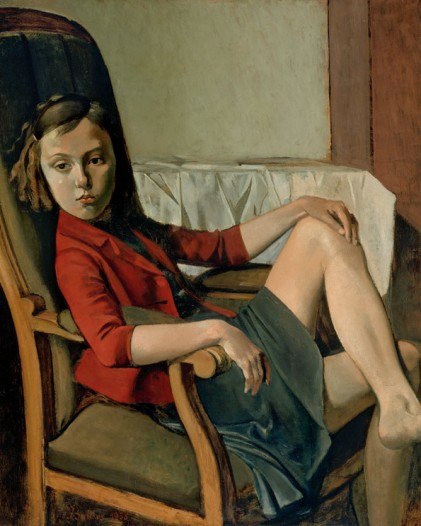 Balthus Therese 1938