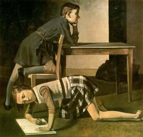 children 1937 Balthus