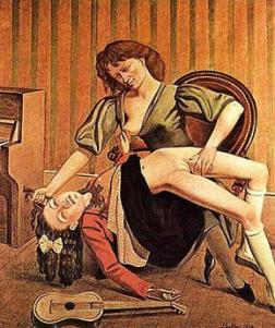 Guitarlesson by Balthus