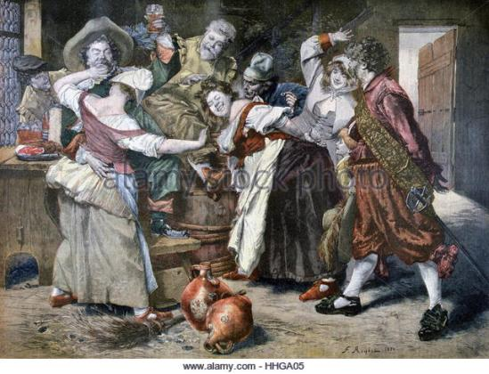 18th-century-french-bar-scene-as-revellers-celebrate-at-an-inn-1894-hhga05