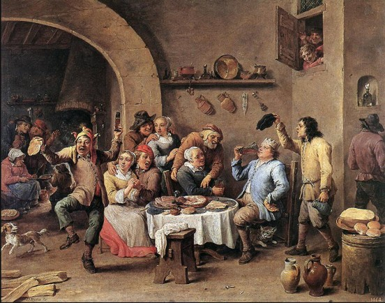 Carnival-The-King-Drinks-1690-teniers