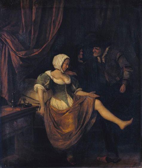old prostitute 1700s