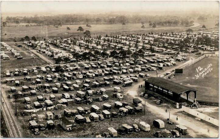 vintage travel trailers RV park D.D. Teoli Jr. A.C.