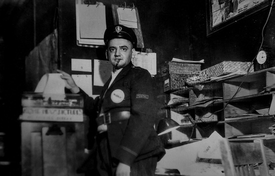 weegee in the mail room D.D. Teoli Jr. A.C.
