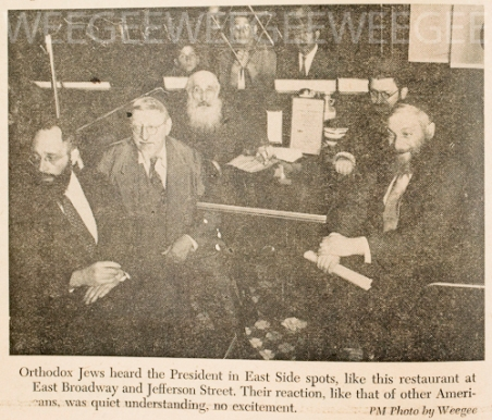 Weegee newspaper clipping D.D. Teoli Je. A.C (3)