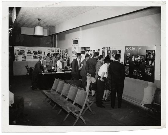 weegee ny photo league exhibit D.D. Teoli Jr. A.C (3)